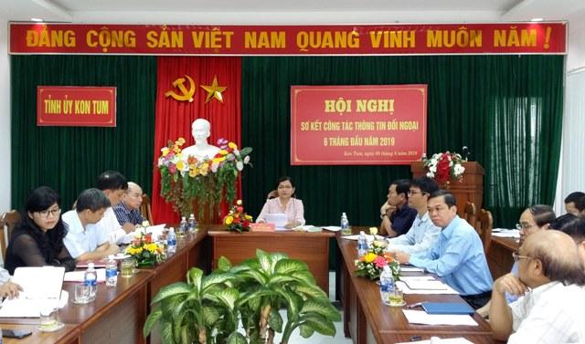 Kon Tum: Công tác thông tin đối ngoại góp phần quan trọng vào phát triển kinh tế-xã hội